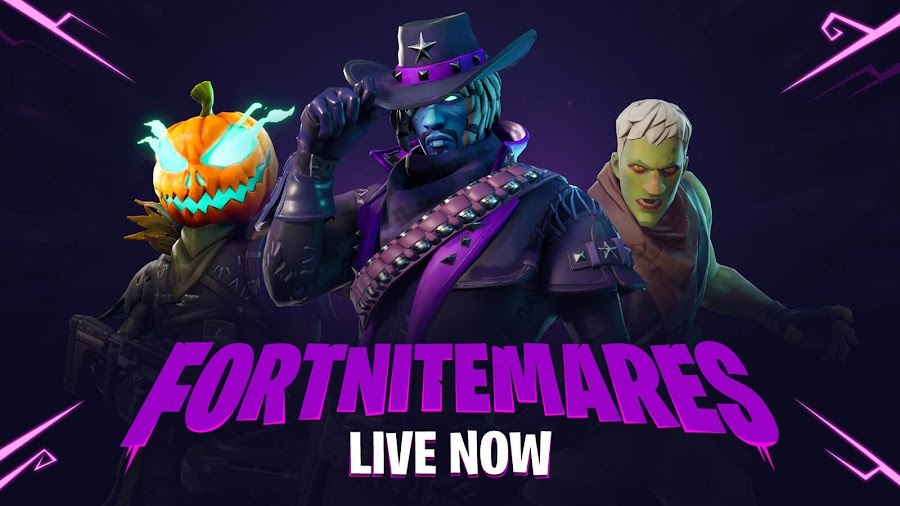fortnite battle royale fortnitemares halloween event