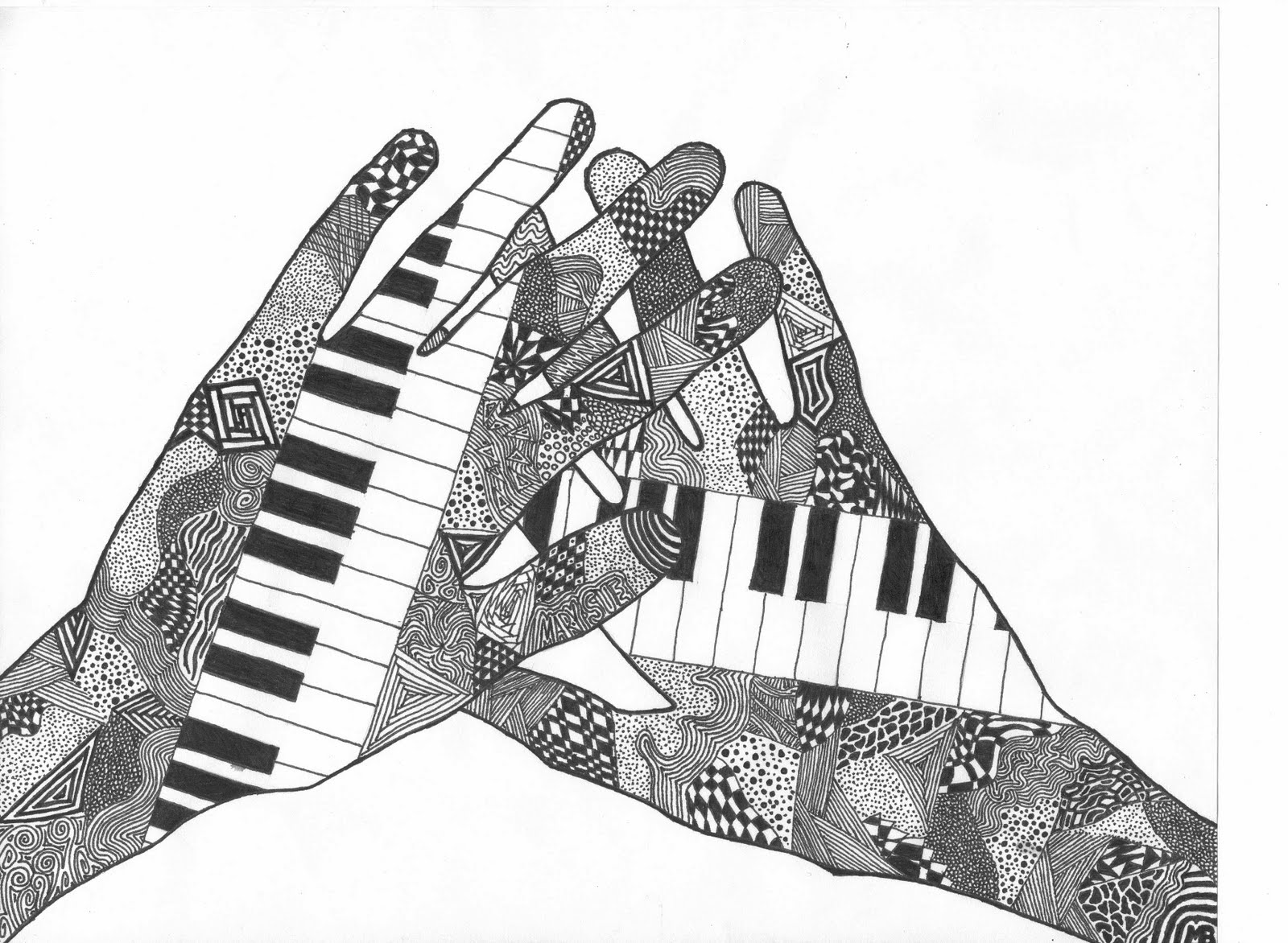 Music Themed Artwork My Art