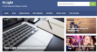 template-blog-premium-berbayar