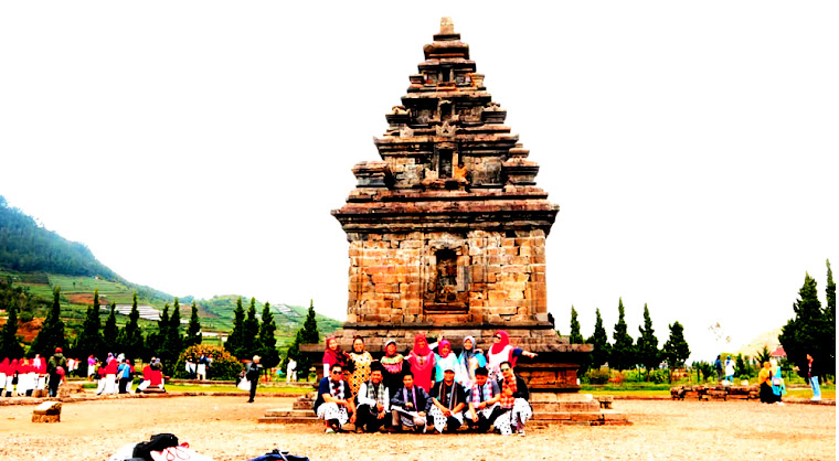 open trip dieng plateau one day tour