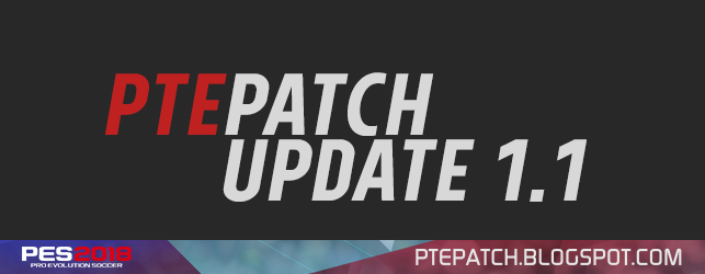 PTE PATCH 2018 1.1