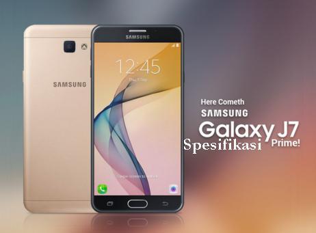 Spesifikasi Samsung Galaxy J7 Prime