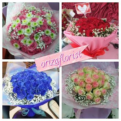 jual bunga mawar valentine surabaya, toko bunga valentine surabaya, harga buket bunga di kayoon surabaya