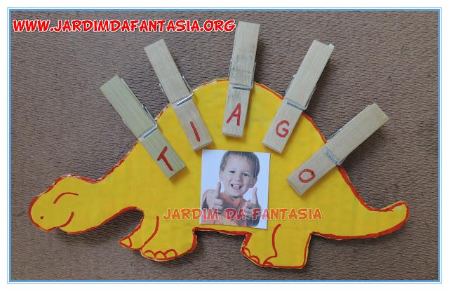 Trabalhando com as letras do nome na Educação Infantil