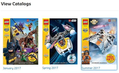 Free Stuff Rockz: Free Snail Mail LEGO® Catalog