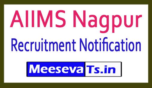 All India Institute of Medical Sciences AIIMS Nagpur Recruitment