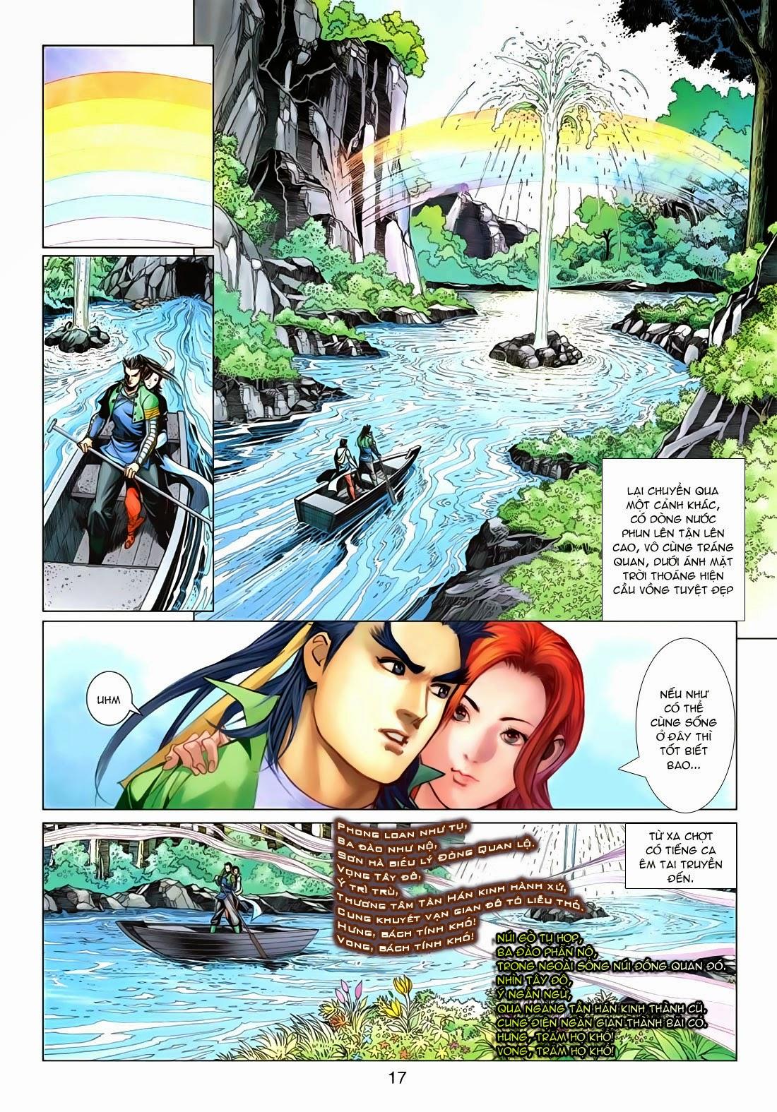 Anh Hùng Xạ Điêu anh hùng xạ đêu chap 72: ngư tiều canh độc trang 17