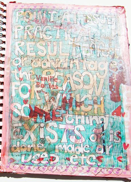art journal pages found at http://schulmanart.blogspot.com/2015/07/art-journal-idea-animal-totems.html
