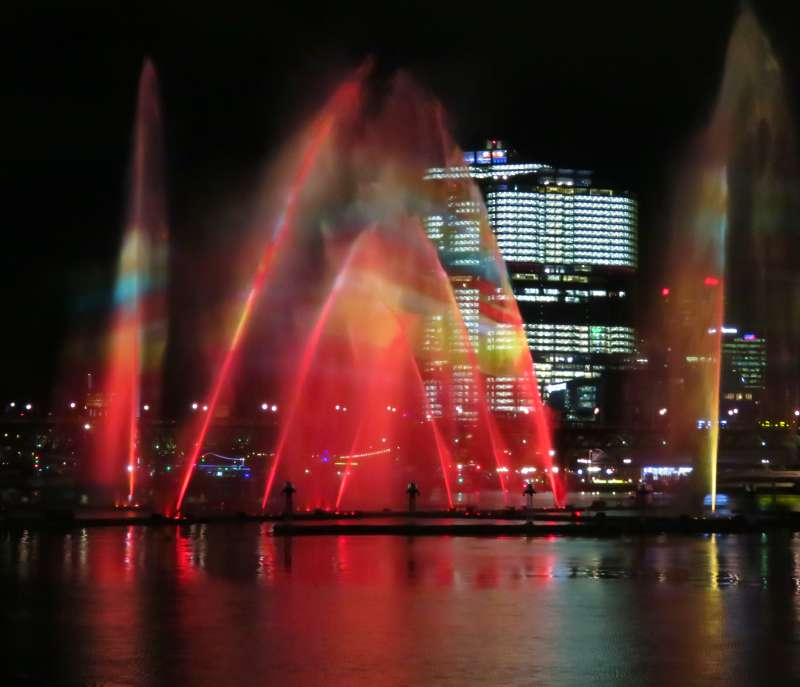 Vivid Sydney Darling Harbour