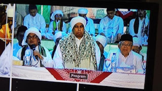 Usai Pidato Kyai Ma'ruf Amin, Habib Muhdor Alhamid Teriakkan 2019 Ganti Presiden!
