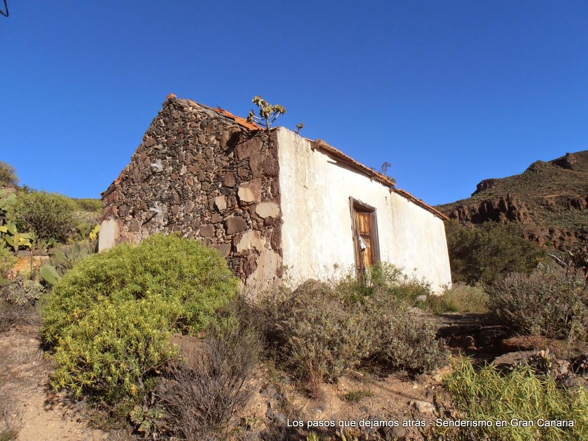Casa canaria abandonada