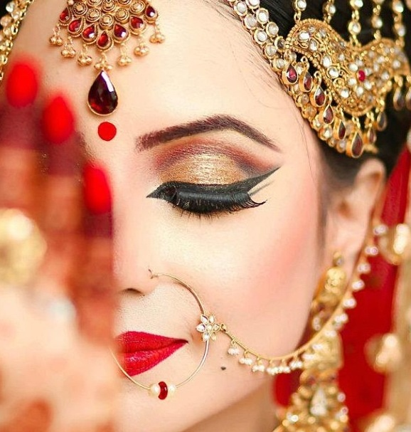 best wedding makeup kaurzscoop best 5 bridal makeup looks 1688