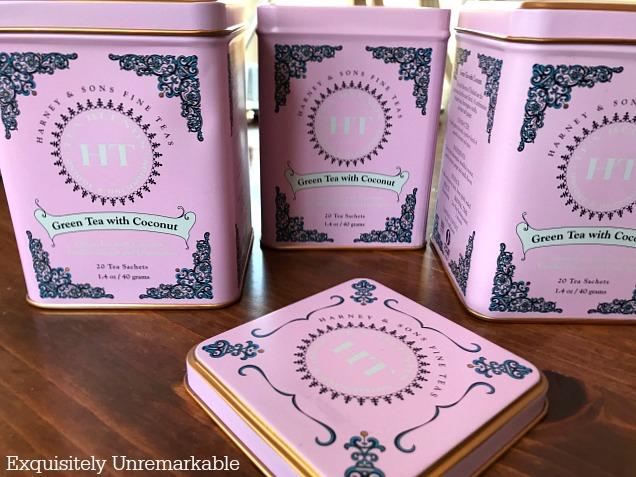 Harney And Sons Tea Tins