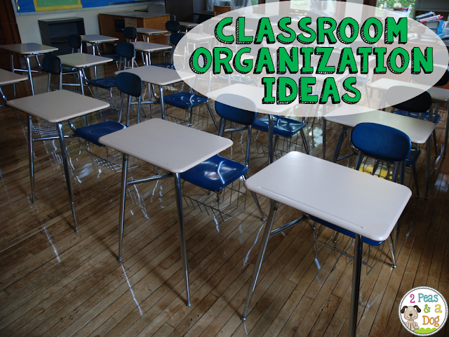 Quick tips to help get your classroom or work space organized.