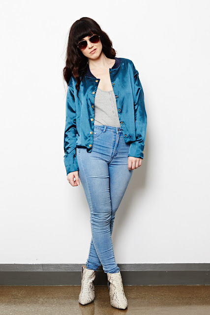 Sequin bomber jacket from Fitzroy Boutique