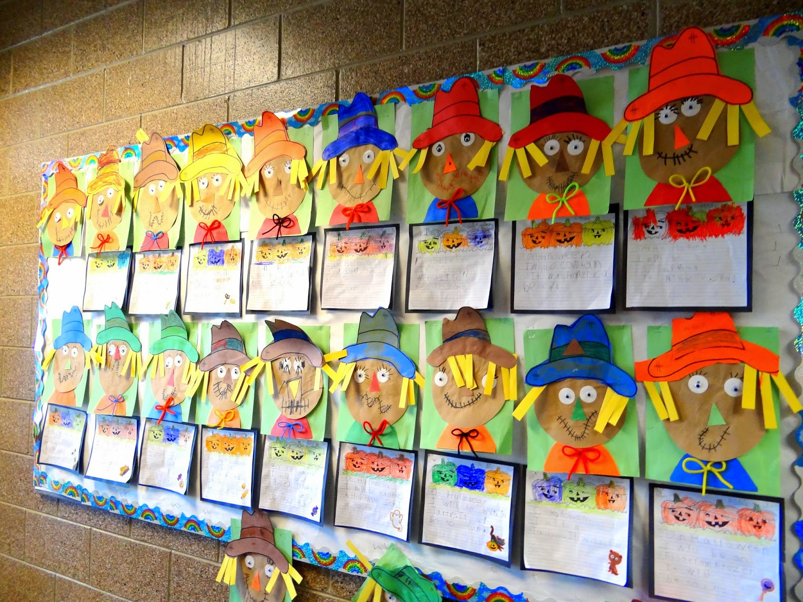 Label The Scarecrow Practice Handwriting Skills With This Fun Fall