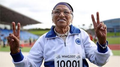 भारत की 101 साल की धाविका मन कौर ने जीता फर्राटा दौड़ में स्वर्ण पदक