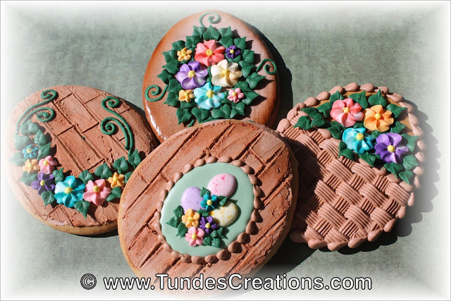Rustic Easter Egg Cookies by Tunde Dugantsi