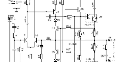 Wiring & diagram Info: 30W Power Audio Amplifier Wiring
