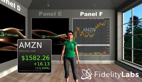 Cora, assistante en réalité virtuelle de Fidelity