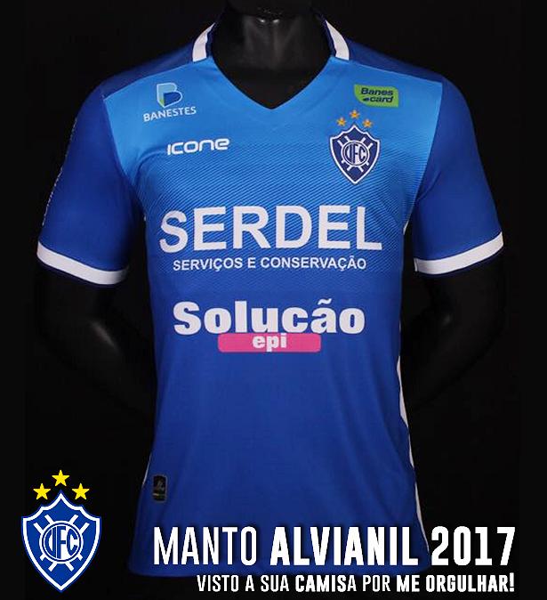 Ícone Sports divulga a nova camisa titular do Vitória - Show de Camisas c8331f6092c9c