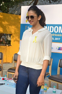Actress Rakul Preet Singh at Endometriosis Awareness Walk at Apollo Cradle  0017.jpg