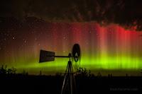 Aurora over South Dakota