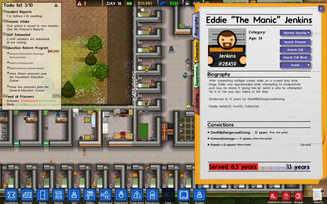 Prison Architect Alpha Final PC Games