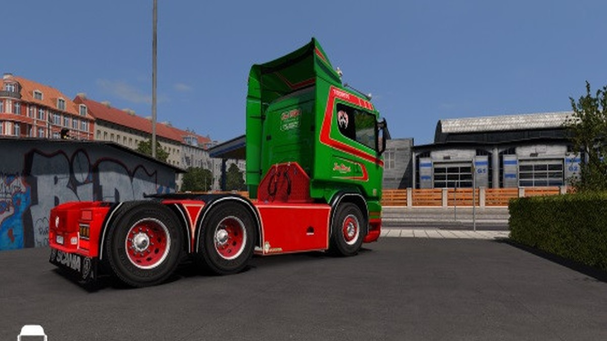Jan Mues Skin Scania RJL