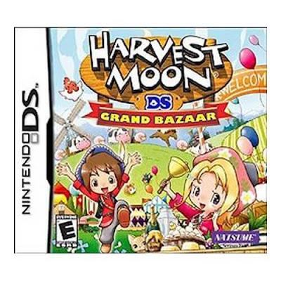 โหลดเกม ROM Harvest Moon Grand Bazaar .nds