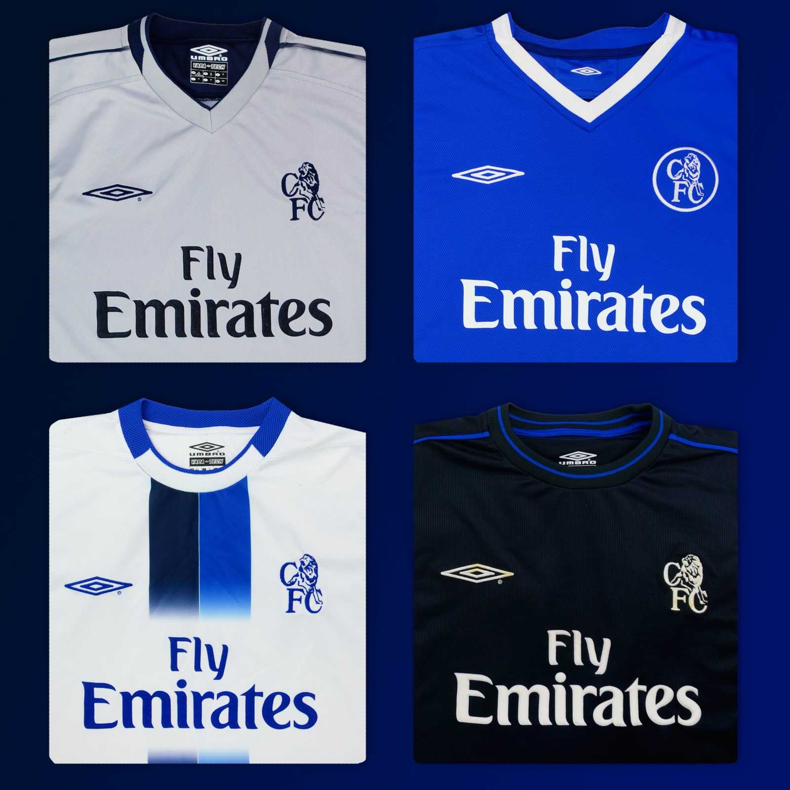Chelsea New Home And Away Kit