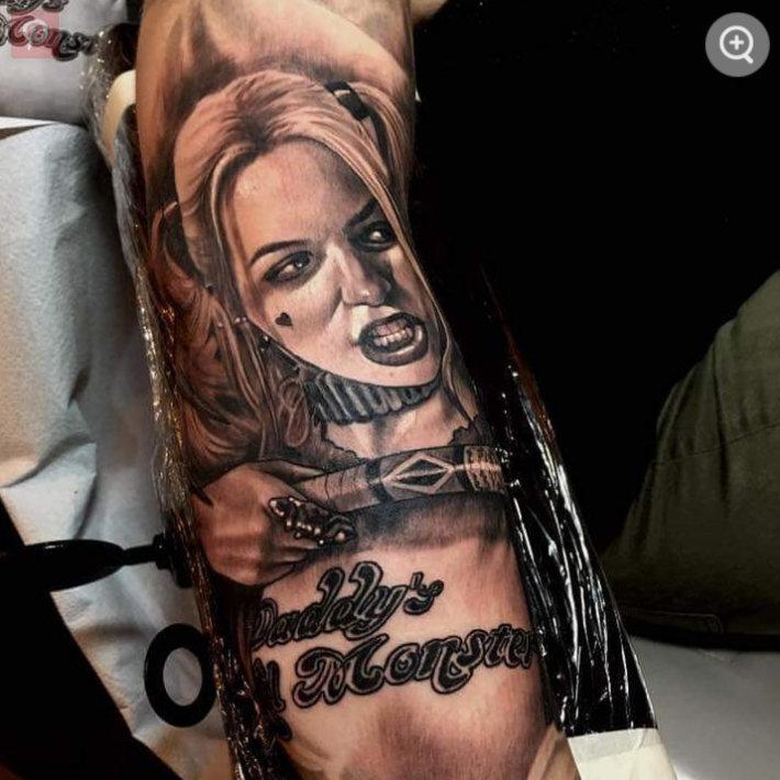 Los Tatuajes De Harley Quinn Y Su Significado Belagoria La