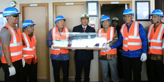 Kapal Tanker Minyak Terbesar Milik Pertamina Diproduksi di Lampung