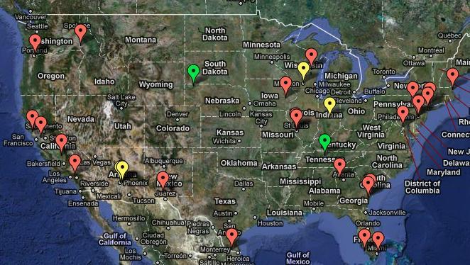 Mapa The Walking Dead.Mapa The Walking Dead Season 4