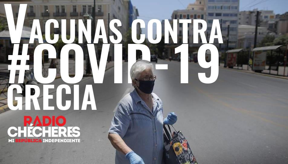 Grecia asegura que tendrá vacunas contra la #COVID-19 antes de final de año