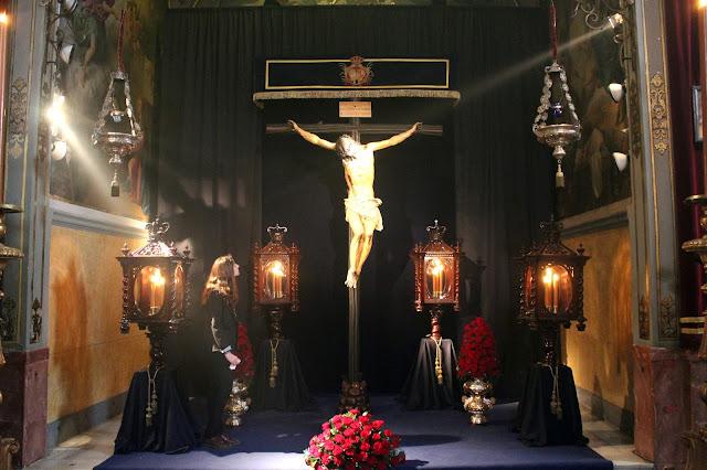 Antigua, Pontificia y Franciscana Hermandad y Cofradía de Nazarenos del Santísimo Cristo de la Fundación y Nuestra Señora de los Ángeles. (Los Negritos).