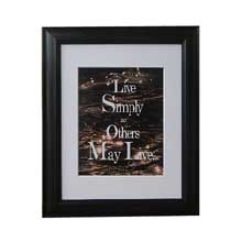 Mother Teresa Inspirational Quote Wall Frame