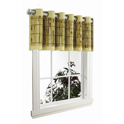 Bamboo Grove Photo Bamboo Grommet Valance