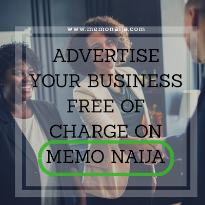 Advertise your business on Memo Naija