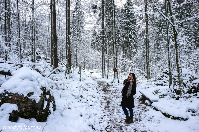 德國國王湖健行路線