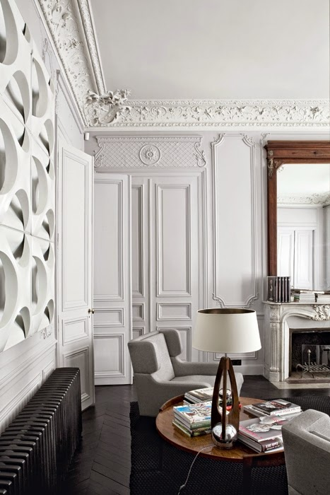 Interior designer tour a parisian apartment