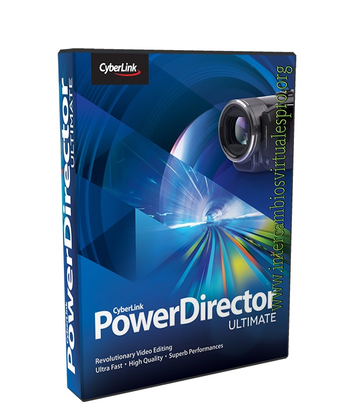 CyberLink PowerDirector Ultimate 15.0.2026.0 poster box cover