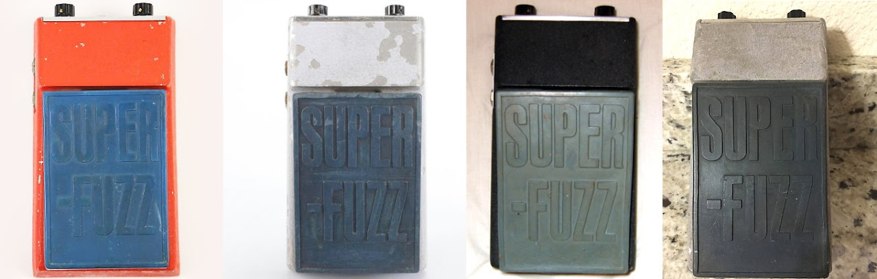 Univox Super Fuzz colors
