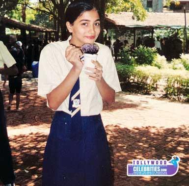 Pooja Hegde Childhood Rare Pic