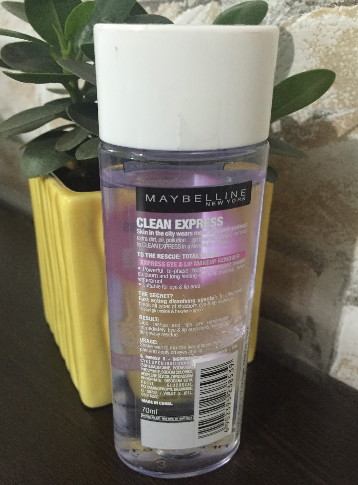 God Made Me Ugly Makeup Beauty Blog Maybelline Clean Express Eye Lip Remover 70 Ml As Claimed By This Total Is An And With Powerful Bi Phase Formula That Instantly Breaks