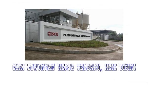 PT. SCG Lightweight Concrete Indonesia