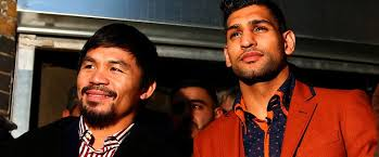Amir Khan and Manny Pacquiao considering venues in UK, Dubai and USA for April super fight