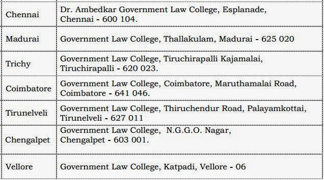 TRB Law Lecturers Recruitment Application Form Sales Colleges