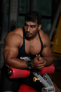 Sangram Chougule indian bodybuilder