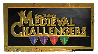 Logo for Medieval Challengers by Kurt Keller at ITD Games